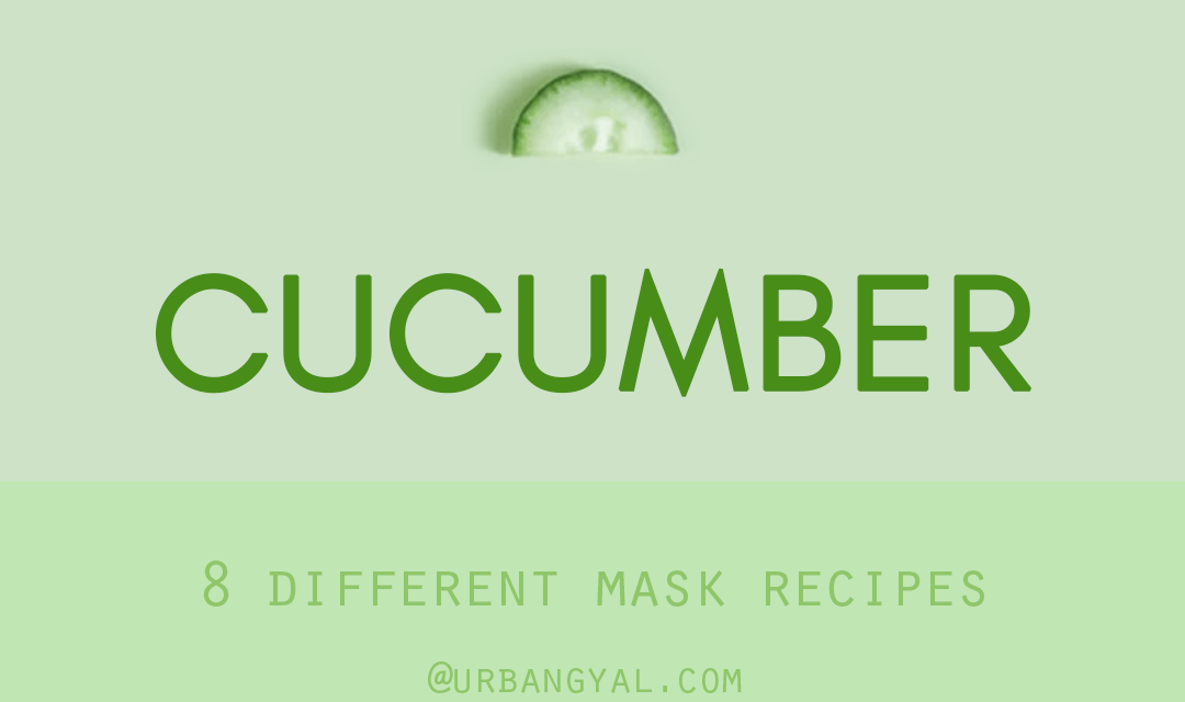 8 DIY Nourishing Cucumber Face Masks