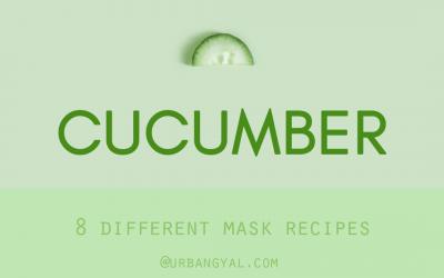 8 DIY Nourishing Cucumber Face Masks