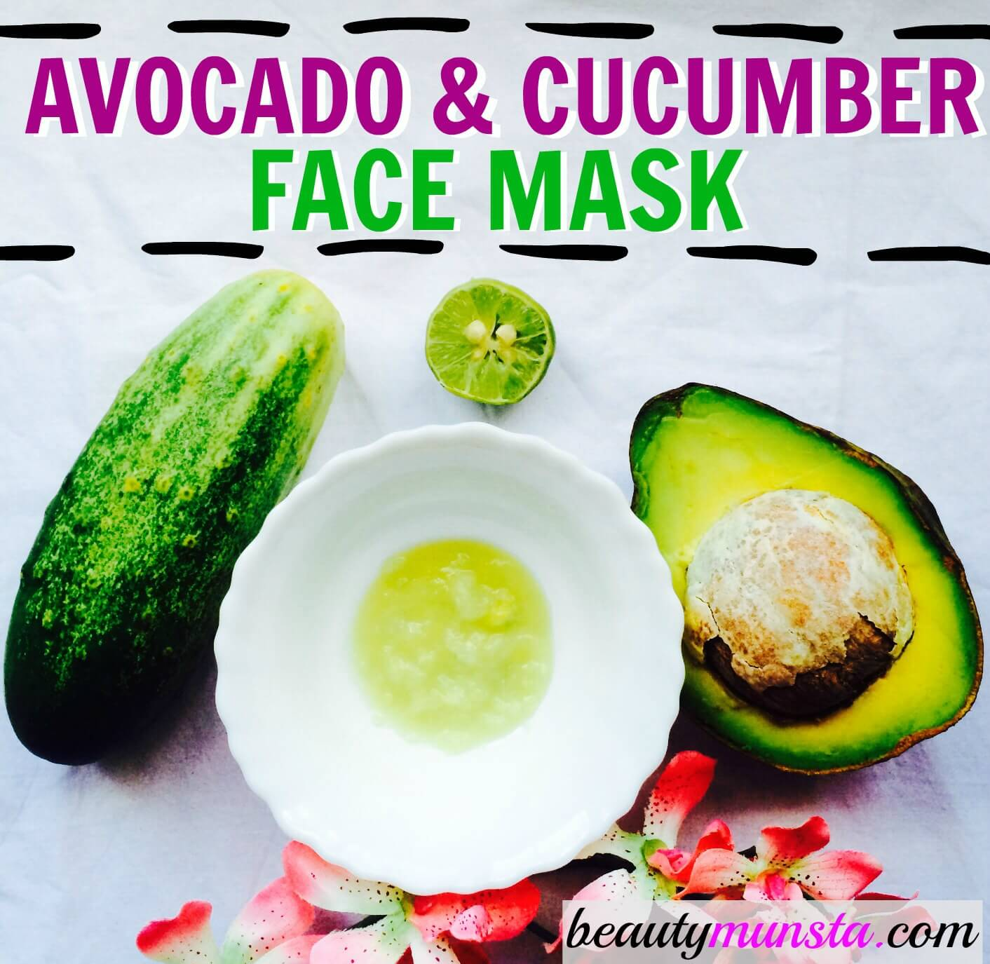 8 DIY Nourishing Cucumber Face Masks 7