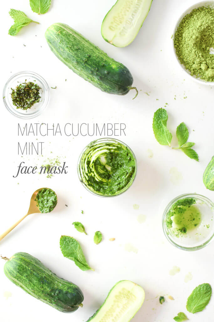 8 DIY Nourishing Cucumber Face Masks 4