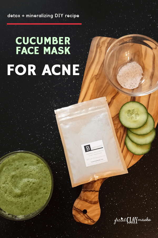 8 DIY Nourishing Cucumber Face Masks 1