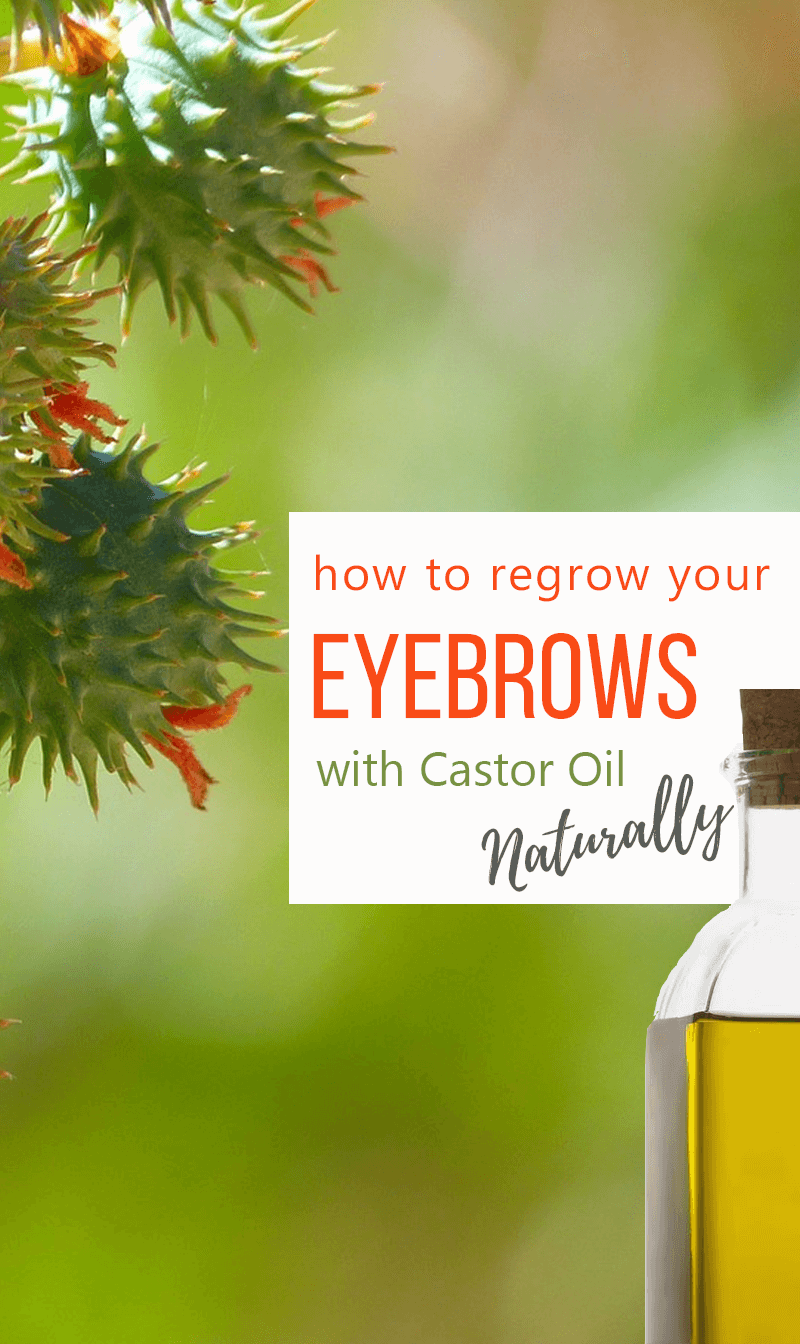 Natural Tips for Lashes and Eyebrow ReGrowth using Castor Oil 1