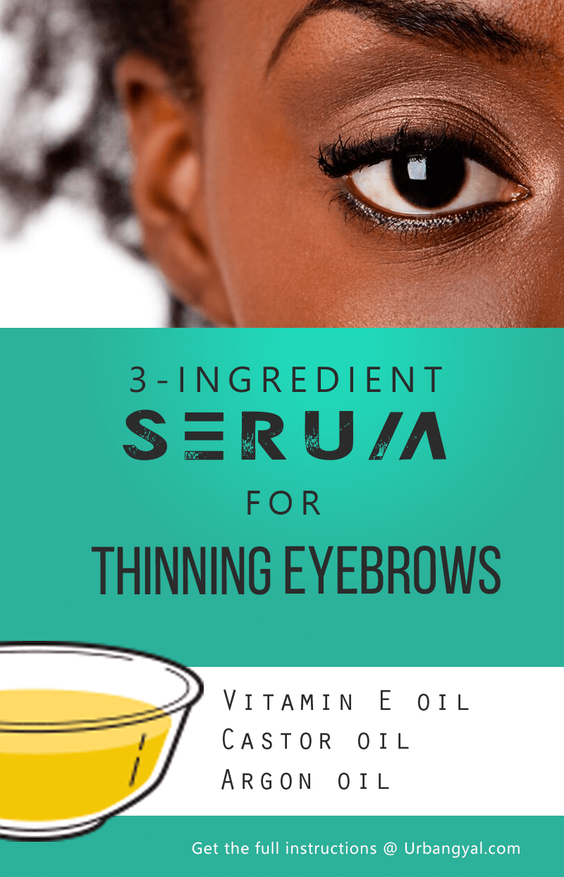 DIY: Try this 3 Ingredient Serum to Fix Thinning or Thin Eyebrows 1