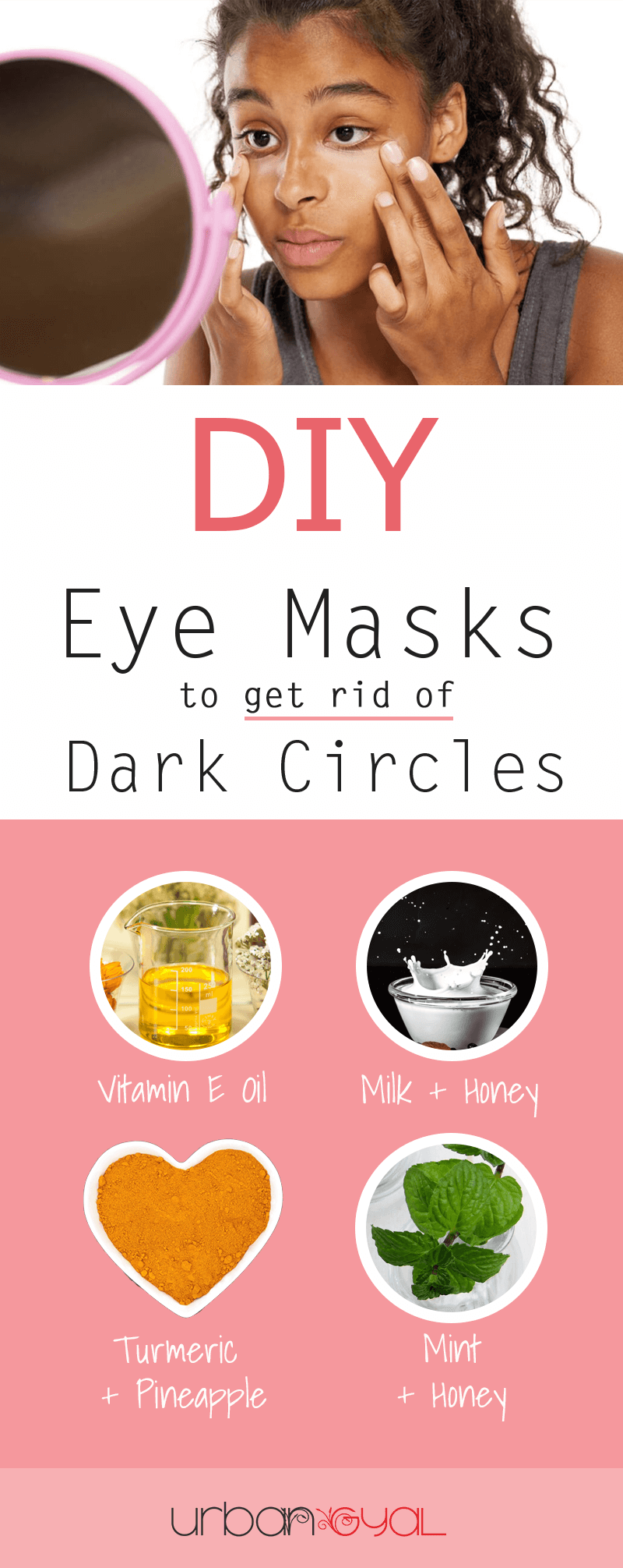 DIY Eye Masks for Dark Circles