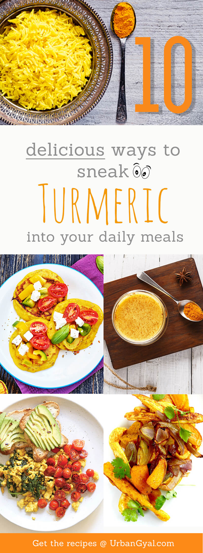 10 Turmeric Recipes