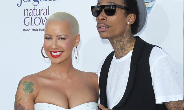 Amber Rose And Wiz Khalifa Go At It Because Amber Admitted To Having A Horrible Threesome