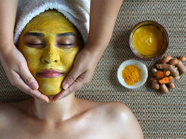 Remove Facial Hair with Tumeric Face Mask