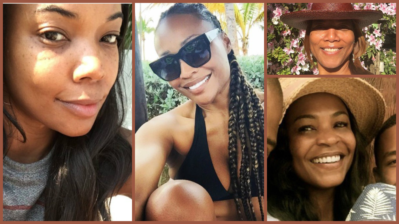 20 Black Celebrities Who Ditched The Makeup And Slayed Anyway