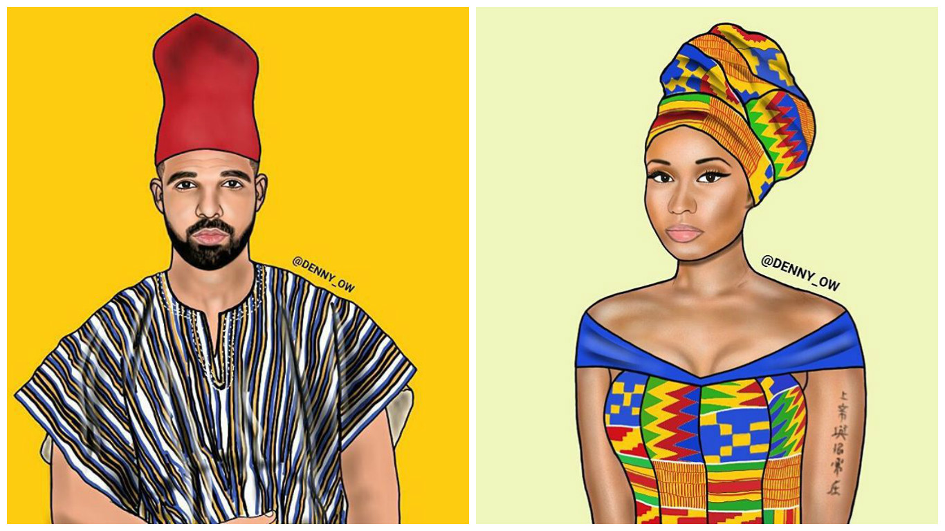 A Ghanaian Artist Recreates African Versions Of American Musicians And Its Brilliant