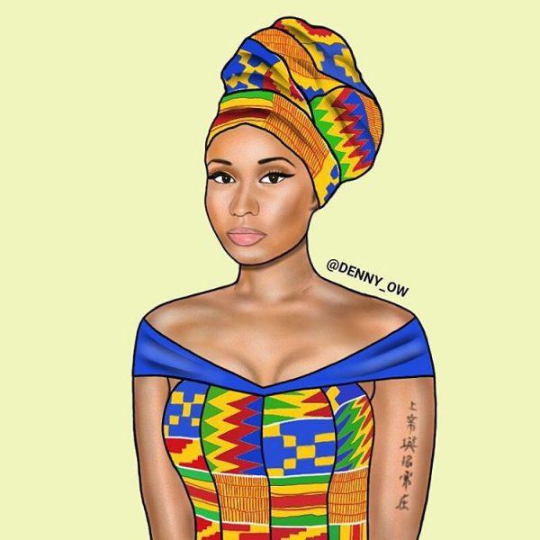 African-Nicki-Minaj