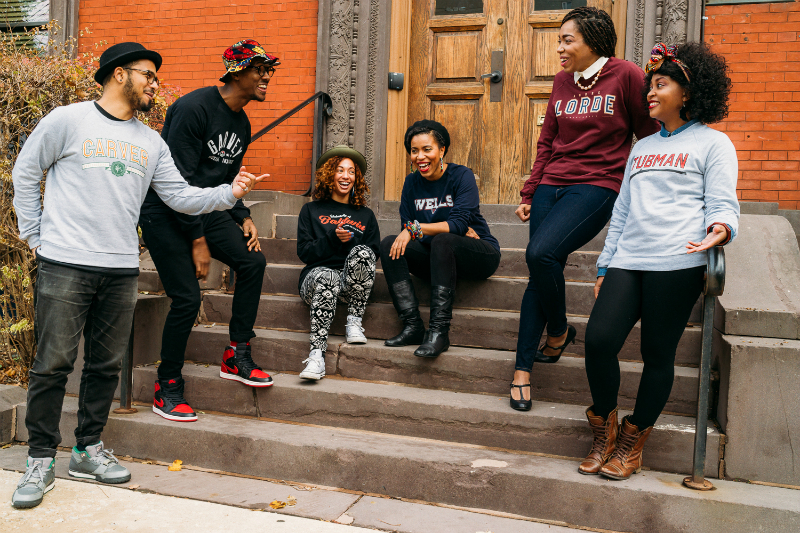 Clothing Line Gives Famous Black Leaders Their Own Universities