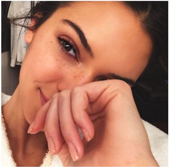 faux freckles