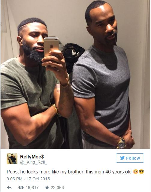 Father And Son Slay The Internet With Their Looks