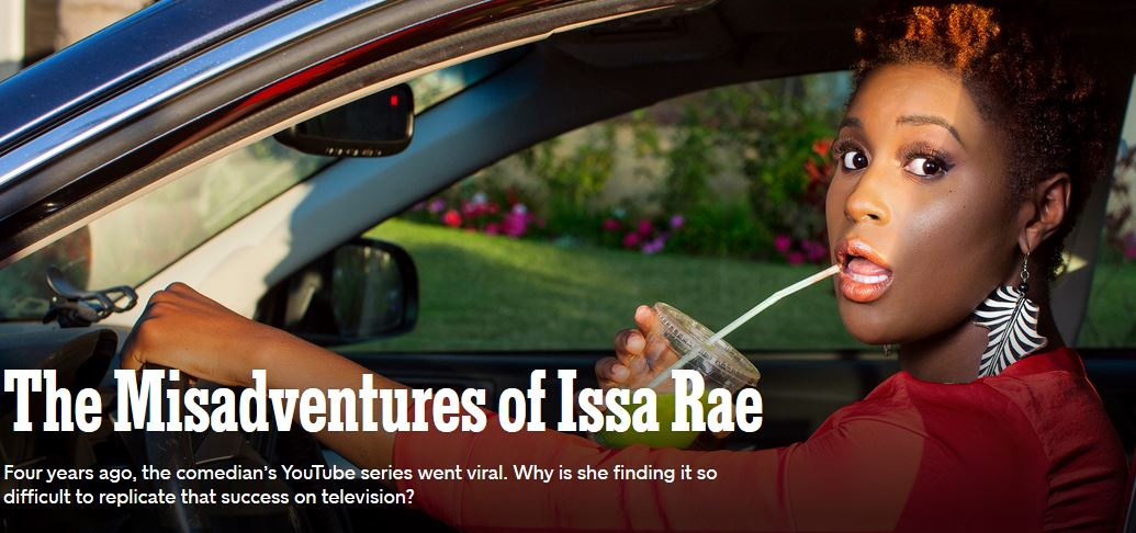 """TV Execs Think Issa Rae's Misadventures Of An Awkward Black Girl Should Have A 'Lighter-Skinned Actress With Long, Straight Hair"""""""